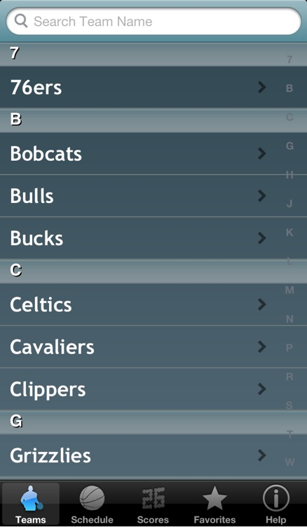 Pro Hoops Radio & Live Scores screenshot-1