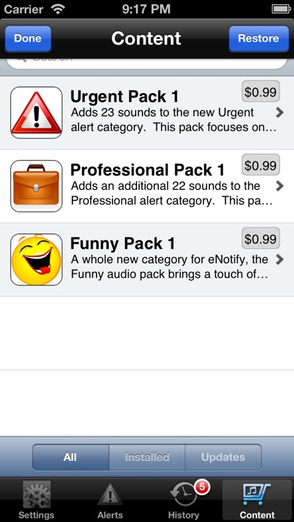 eNotify Free screenshot-4