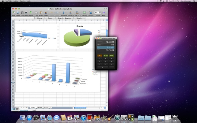 calculatrice de tva et de taxes dans le mac app store. Black Bedroom Furniture Sets. Home Design Ideas