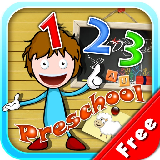 Learn 123s Free - Preschool Tools for Teaching and Learning Numbers icon