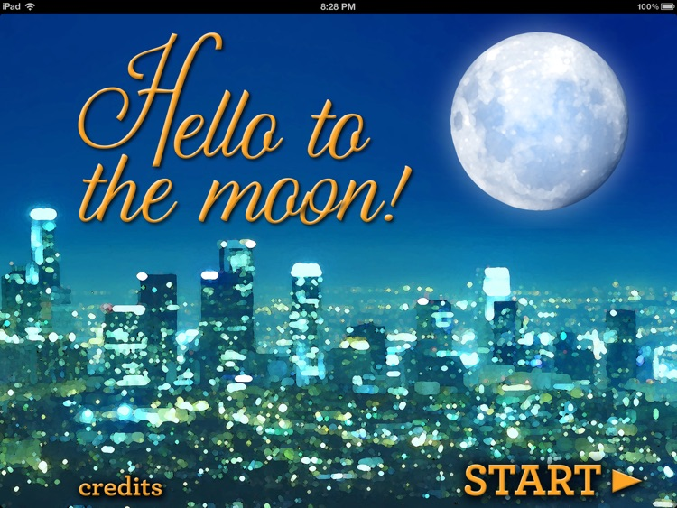 Hello to the Moon!