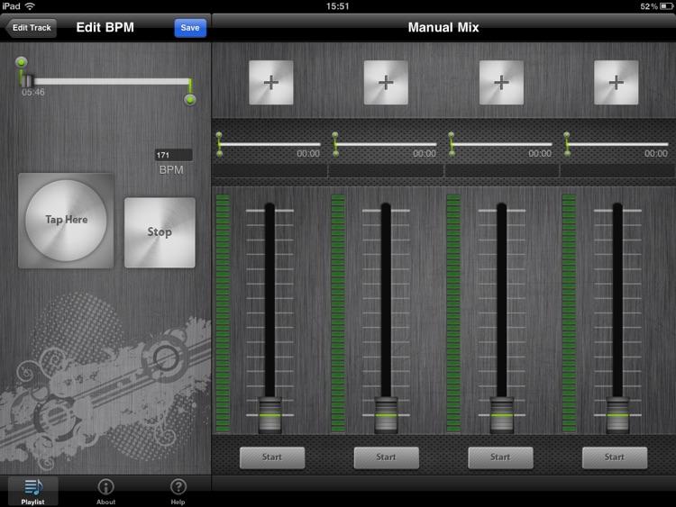 DJ Mixer HD screenshot-3