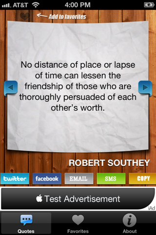 Quotes and Phrases screenshot four