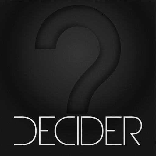 Decider iOS App