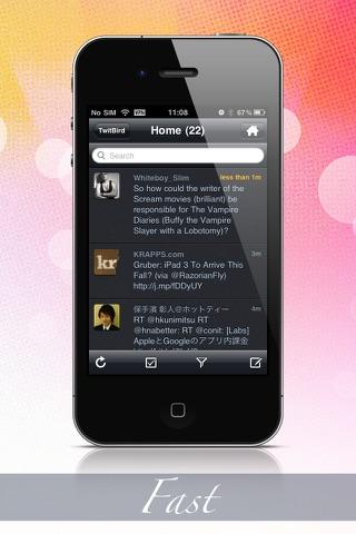 Twitbird Pro For Twitter review screenshots