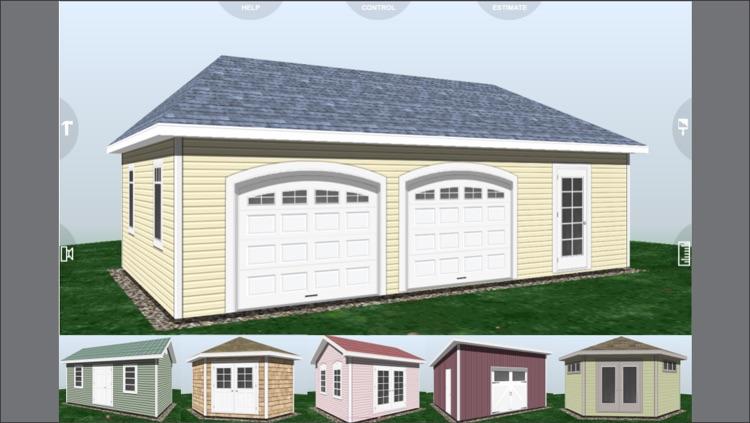 Design Shed Garage 3D