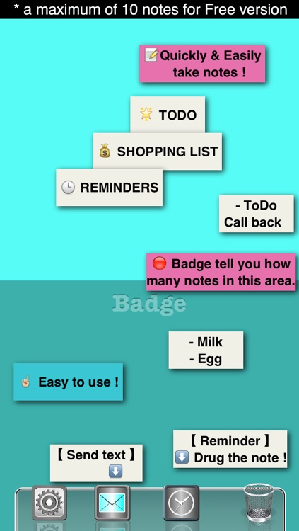 Badge Sticky Notes FREE screenshot-3
