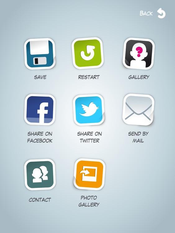 Faceyourmanga Avatar Creator for iPad screenshot-3
