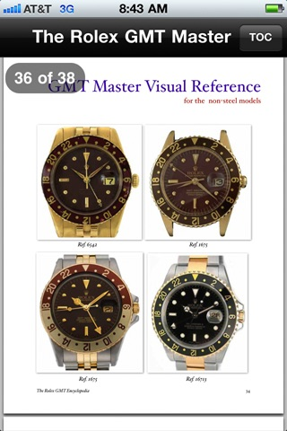 ROLEX GMT MASTER ENCYCLOPEDIA screenshot-4