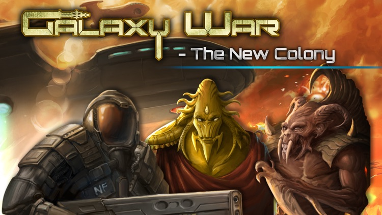 Galaxy War - The New Colony