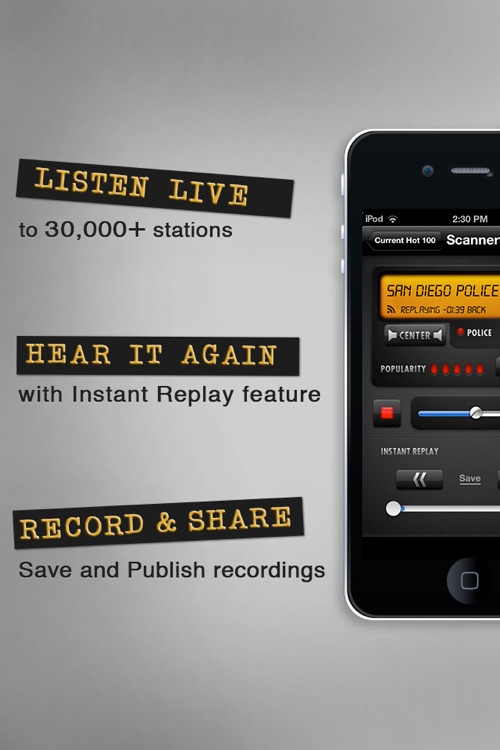 Scanner911 Police Radio screenshot-1