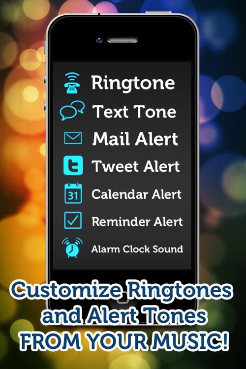 Ringtone Maker Pro - Create free ringtones with your music!