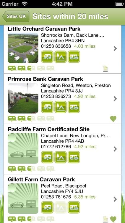 Sites UK Lite - Caravan and Camping Sites in the UK