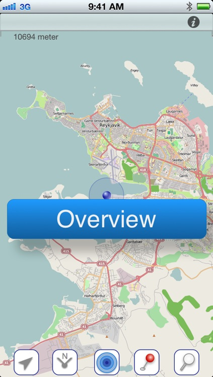 Reykjavik Offline Map screenshot-4