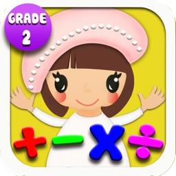 Math-Grade 2 (Math Worksheets Game For Kids)