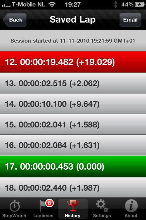 Racing Lap Timer HD screenshot-4