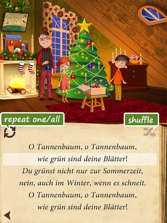 Uber Christmas Carols (German) HD | sing along and enjoy ~ Free screenshot-3