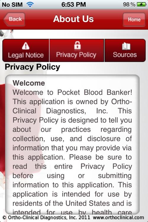 Pocket Blood Banker screenshot-4