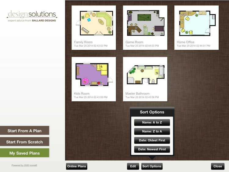 Ballard Designs Room Planner screenshot-1