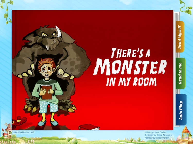 There's a Monster in my room - Another Great Children's Story Book by Pickatale HD