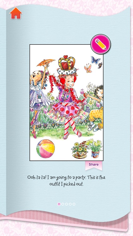 Fancy Nancy Dress Up screenshot-4