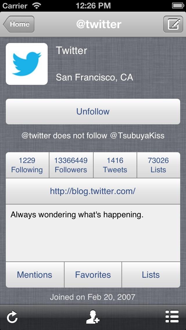 Screenshot #3 pour TwitRocker2 Lite for iPhone - la prochaine génération de client twitter