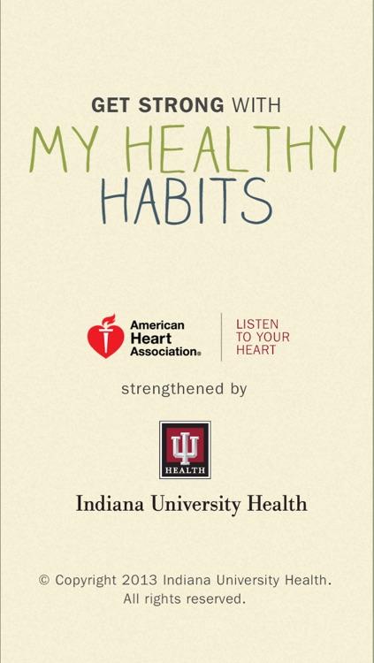 My Healthy Habits