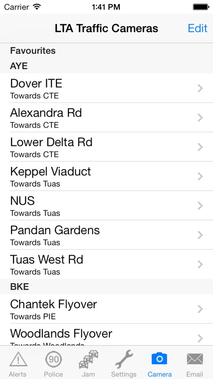 TrafficAlert screenshot-4