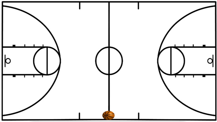 Basketball Coach Diagram