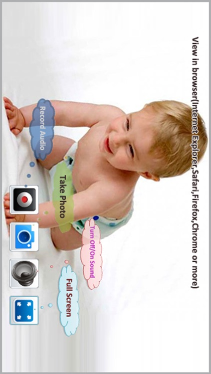 Wireless Monitor & Listen (Monitor the baby and all the things of the room,Camera to PC withOUT Client)--Third Eye Pro