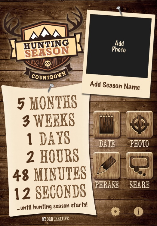 Hunting Season Countdown