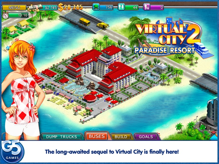Virtual City 2: Paradise Resort HD (Full) screenshot-0
