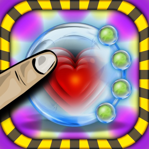 Bubble Smasher Shooter HD Free - The Sniper Mania Safari Game Saga for iPhone & iPad icon