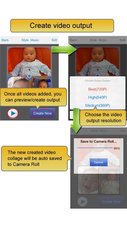 Video Album - Frame Video, Join Video, Crop Video, Rotate Video screenshot-4