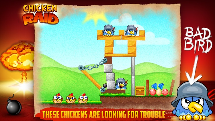 Chicken Raid screenshot-0