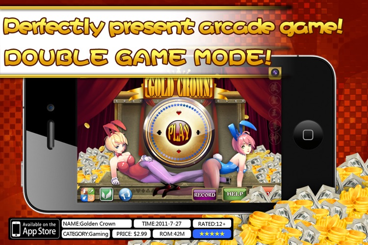 Gold Crown™ Video Poker