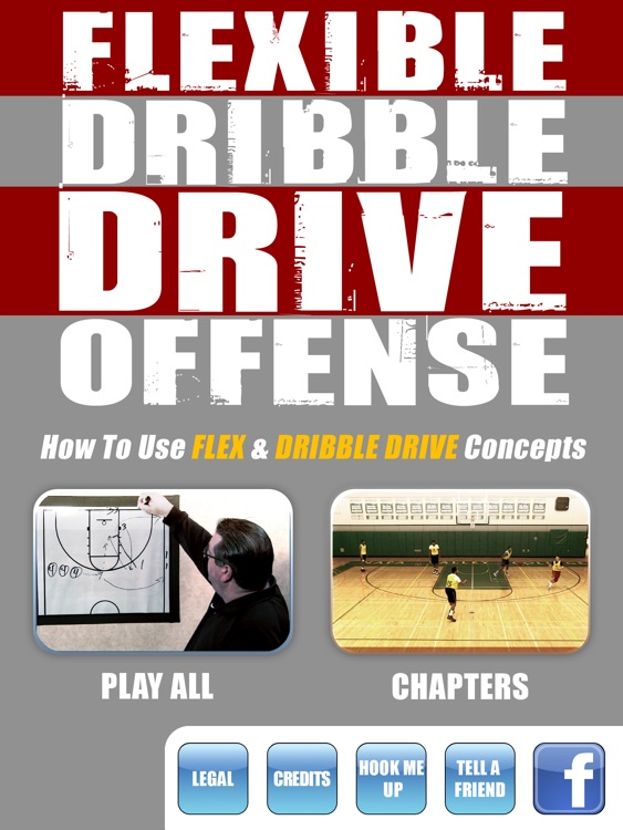 Flexible Dribble Drive Motion (DDM) Offense - With Coach  Jamie Angeli - Full Court Basketball Training Instruction - XL