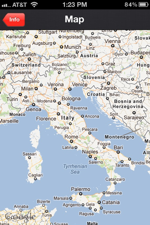 Country Facts Italy - Italian Fun Facts and Travel Trivia screenshot-3