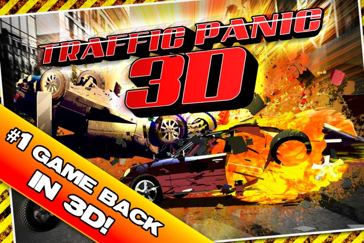 Traffic Panic 3D screenshot-1