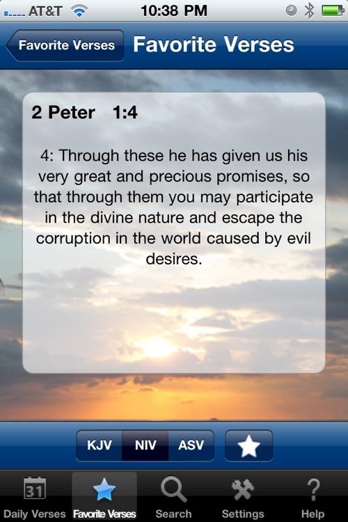 Daily Bible Verses (KJV,NIV,ASV) screenshot-4