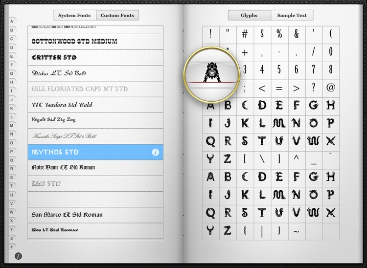 Font Tome screenshot-1