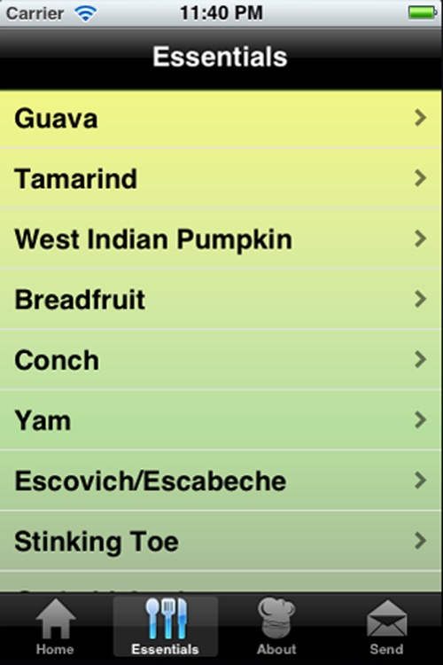 Jamaican Recipes screenshot-3