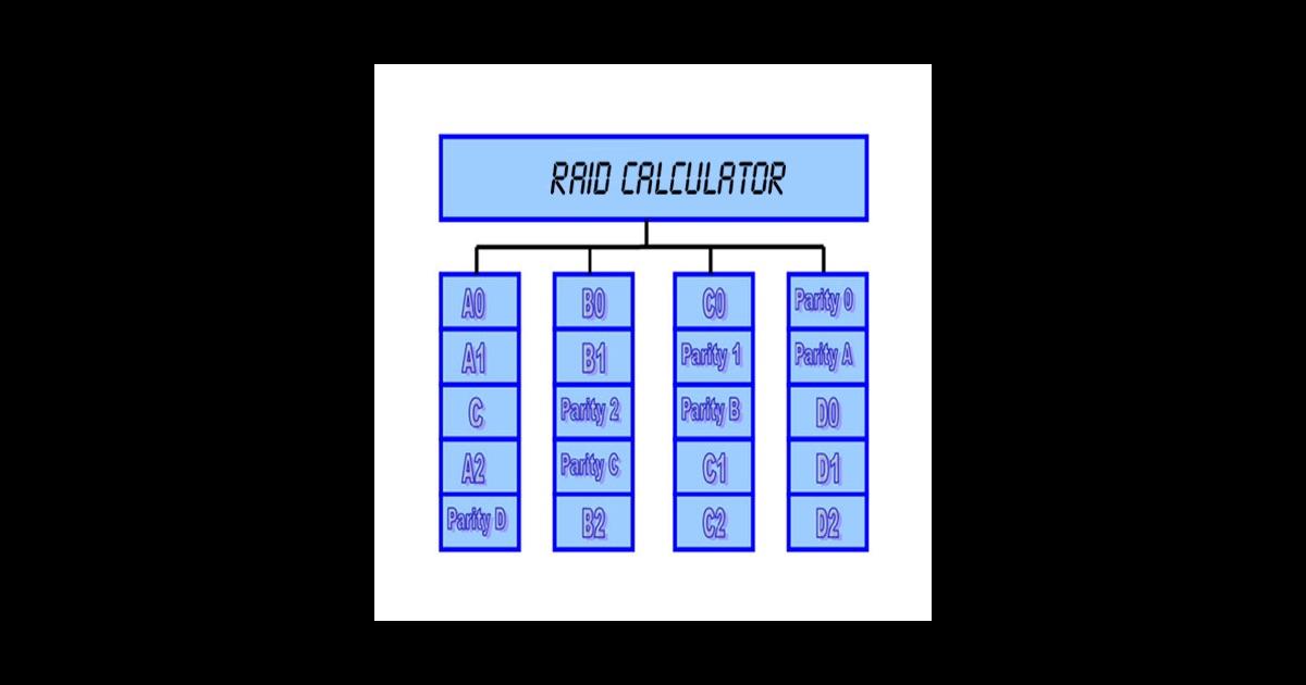 Raid Array Calc App Store