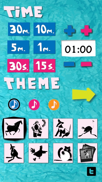 Kids' Timer - visual countdown for preschool children