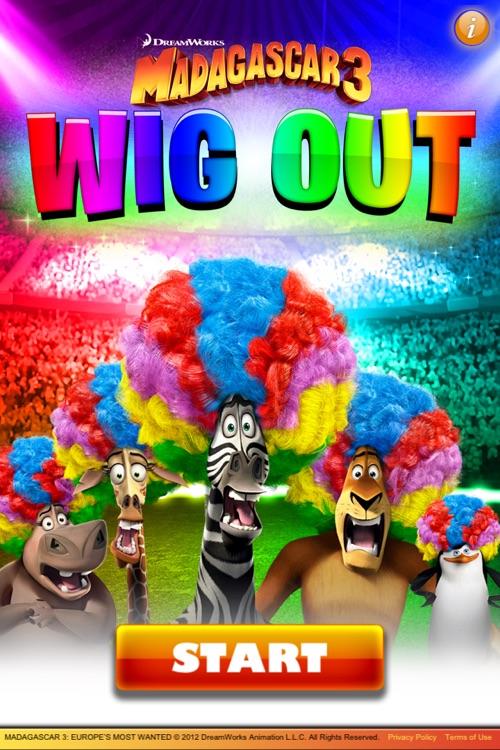 Madagascar 3 Wig Out