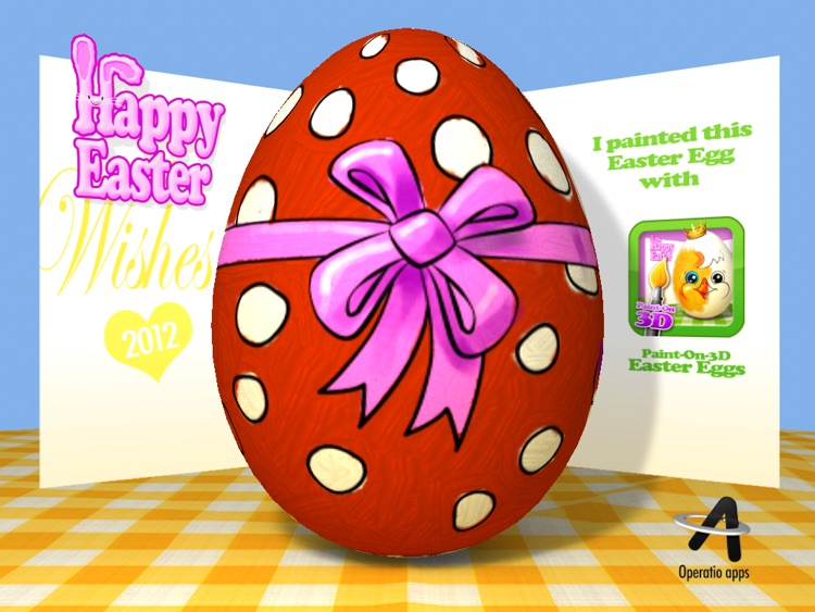 Paint-On-3D Easter Eggs screenshot-4