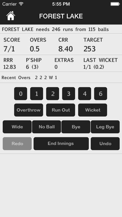 CricScore screenshot-2