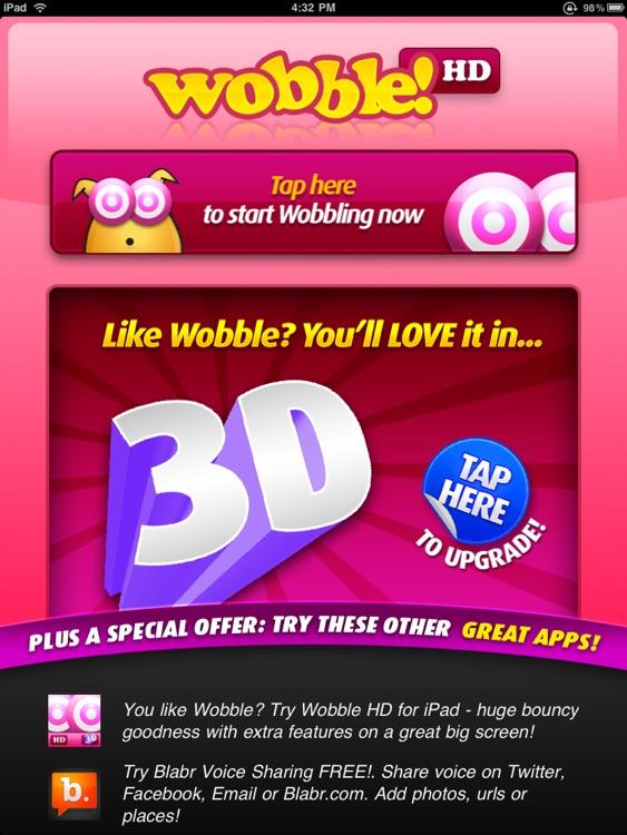Wobble HD 3D screenshot-4