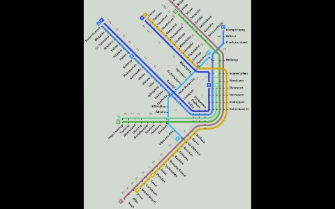 Denmark Subway Maps (Copenhagen) screenshot-3