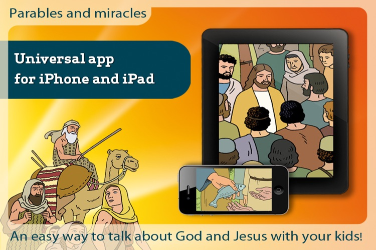 Bible movies - Parables and miracles screenshot-1